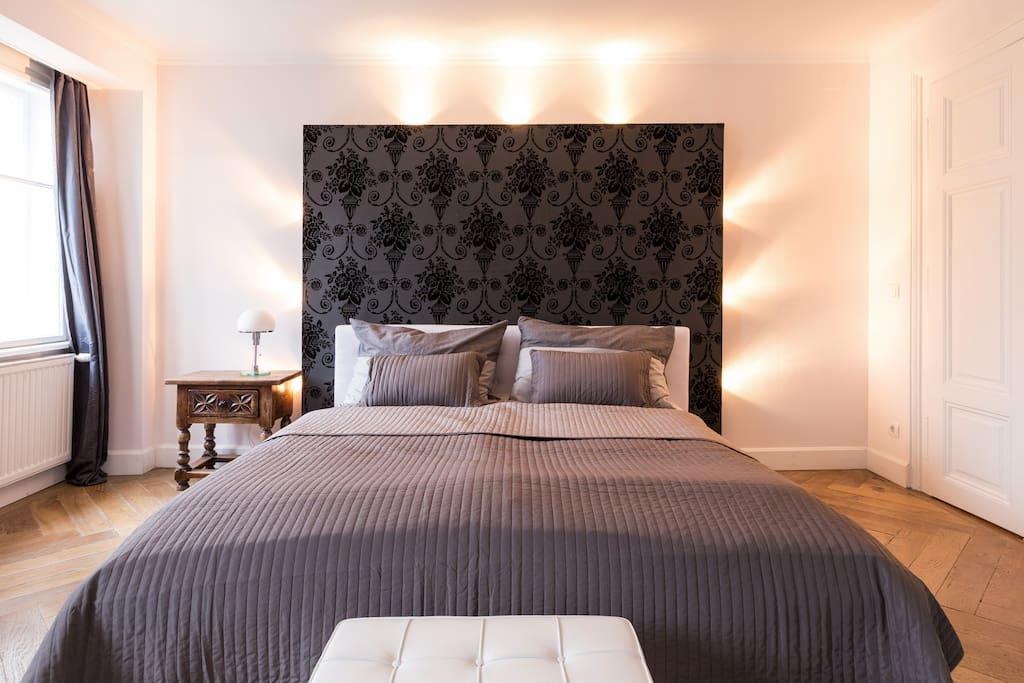 wonderful double bedroom