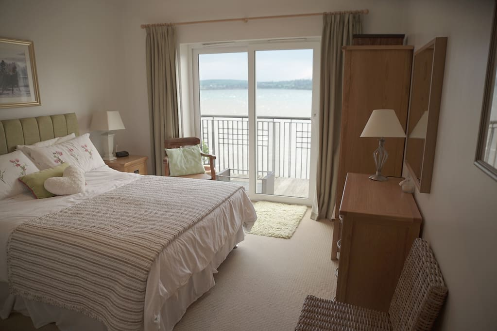 The master bedroom is fully furnished and includes ensuite shower room and access to Balcony.