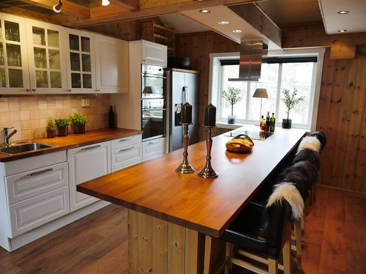 Norgesferie, Stor fin leilighet til leie