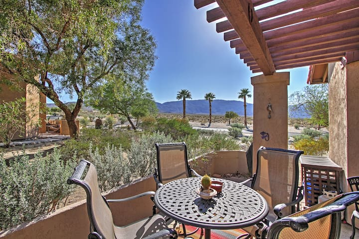 Borrego Springs Condo w/Desert & Mtn Views!