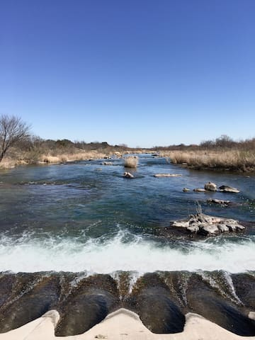The Marfa of the Hill Country, on the Llano River