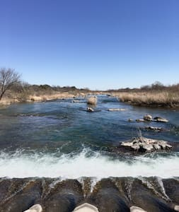 Llano River Front With Huge Covered Patio