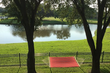 Water view guest suite, gated, Clear Lake Area