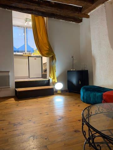 Studio atypique déco gipsy centre Nimes