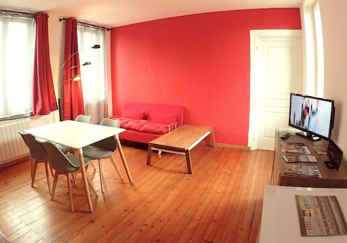 1er etage privatisé Tout confort. english spoken.