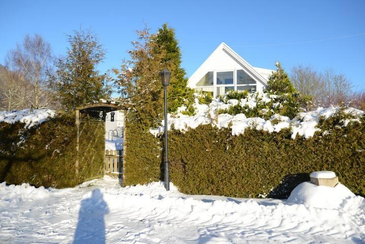 Hus på Hallandsåsen