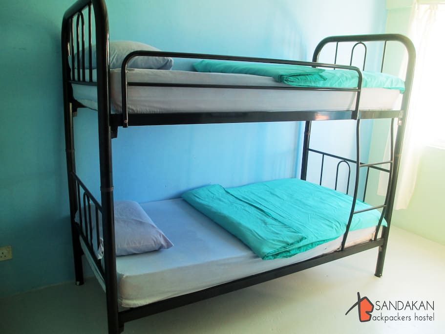 Bunk Bedding with attached Cold Shower