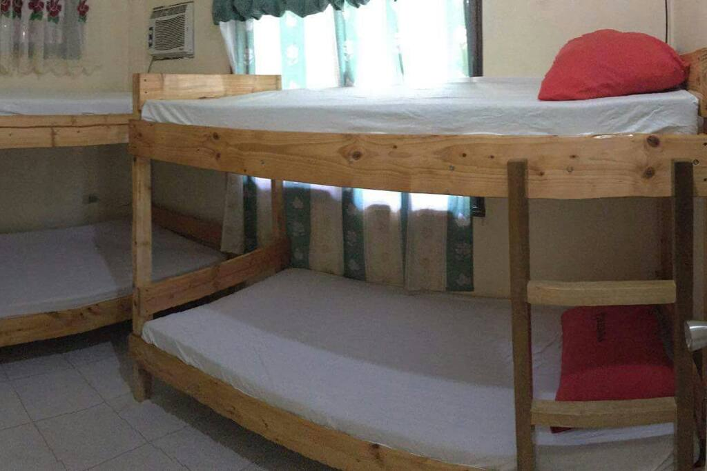 Bedroom 1 good for 4 pax