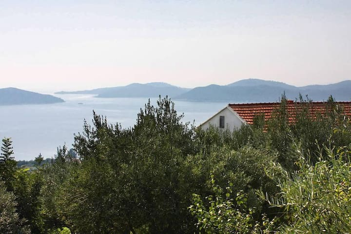Two bedroom house with terrace and sea view Brsečine, Dubrovnik (K-4718) - Brsečine