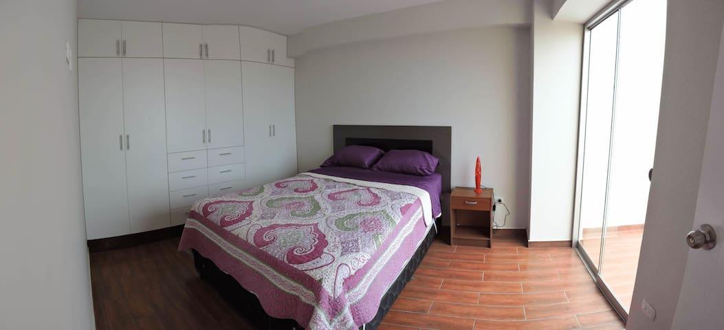Habitación principal con un pequeño balcón, 934951822  (imagen referencial)