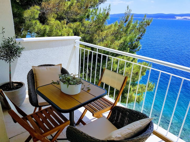 Seaview apartment Up on sea Stanici