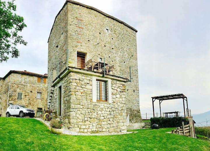 Das Haus Toskana Turm