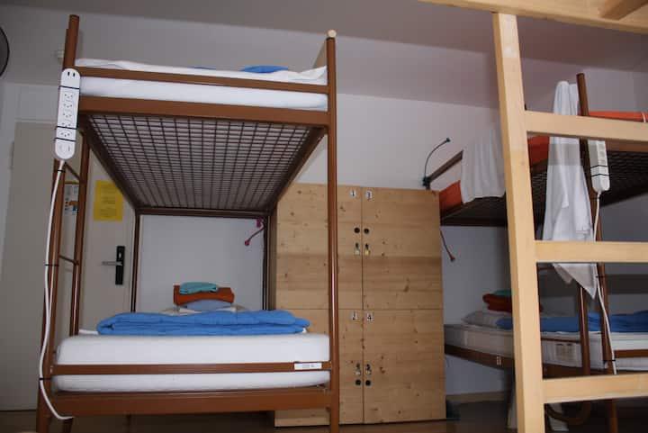 Mehrbettzimmer im Zentrum