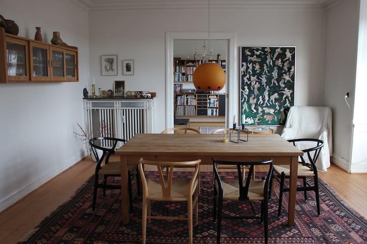 Beautiful luxury flat in central Aarhus