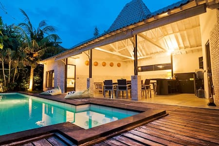 Villa Kazz 3 - pool walking distance to beach surf - North Kuta - 别墅