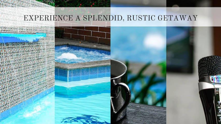 Splendid Rustic Private Resort - Tagaytay