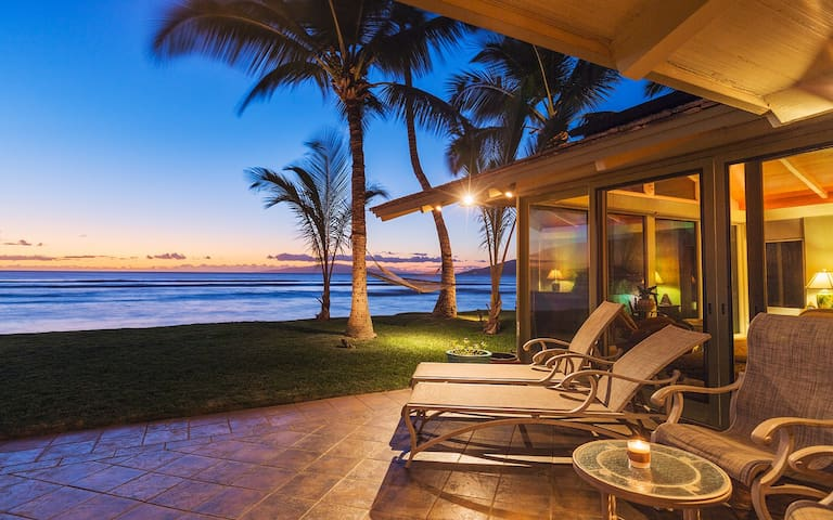 'Hale Aloha' Maui Oceanfront Rental Home in Kihei - Kihei - Ev