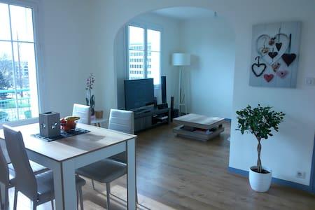 Chambre privée au pied du métro clemenceau - Rennes - Apartemen