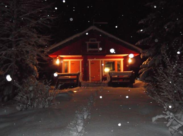 Good mode log cabin in Uimaharju