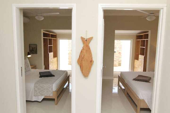 Entrance to Master bedroom and Bedroom 2