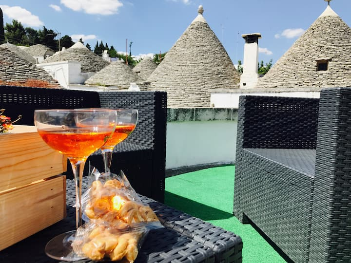 Trullo Margherita con terrazza panoramica