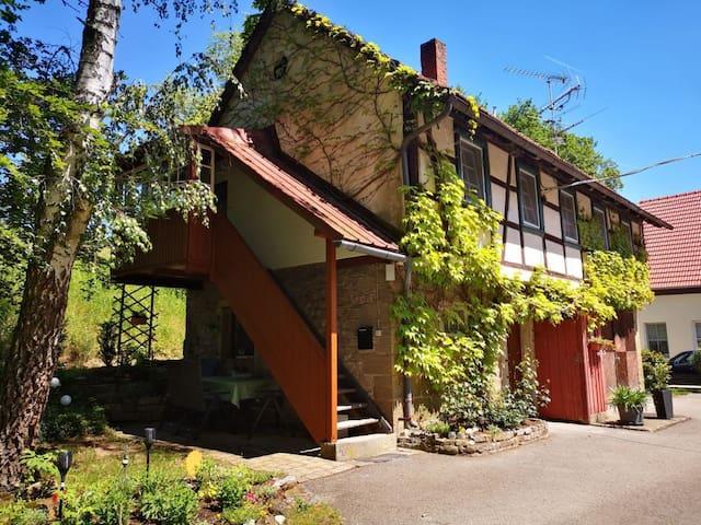 Rothhäuser Mühle (Korbhaus) in Bayern/Unterfranken