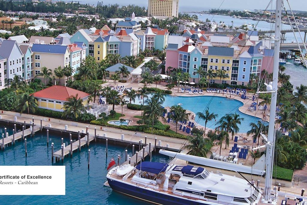 Harborside Resort at Atlantis, Bahamas