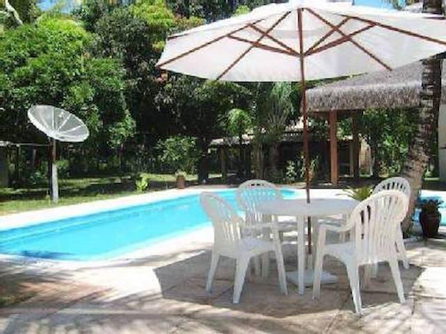 Chalé completo com piscina - Porto Seguro - Apartemen