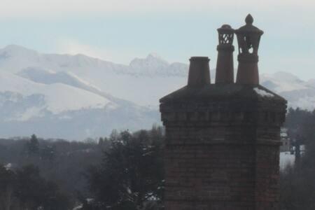 chambre loft 35 m2 tt confort vue sur les Pyrénées - Pau
