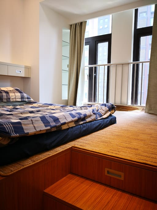 Bedroom with Tatami Bed