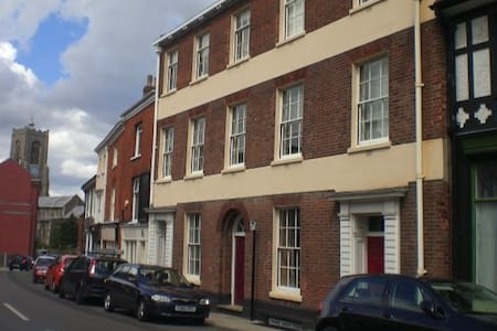 Ground floor flat in superb central location. - Norwich - Apartment