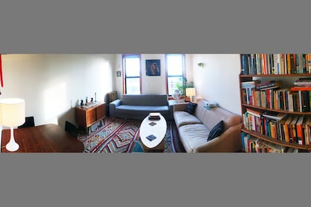 Sunny, quiet Crown Heights apt - Brooklyn - Apartment