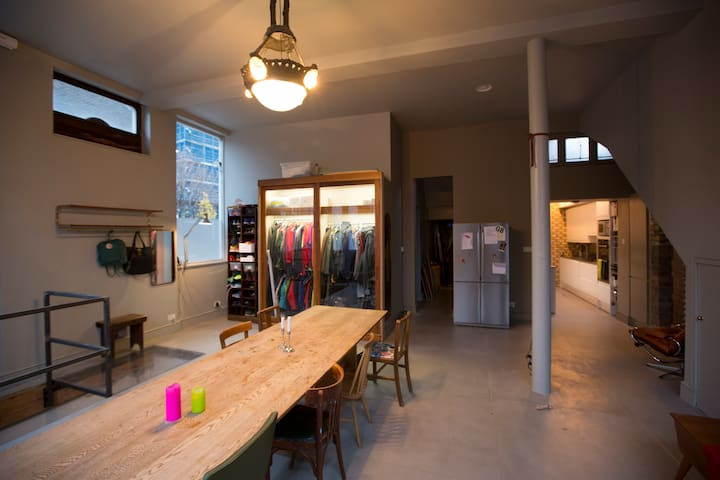 Two private rooms in a converted Shoreditch Pub