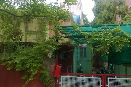 Room in a  Traditional Bunglow -Terrace Garden - Ahmedabad - Bungalow