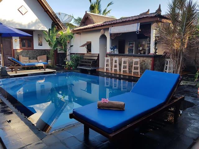 Trawangan Guesthouse 2Adult Standart Double BAgaz