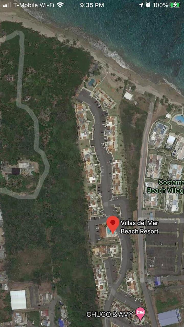 Villas del Mar Beach Resort  in Loiza, Beach front