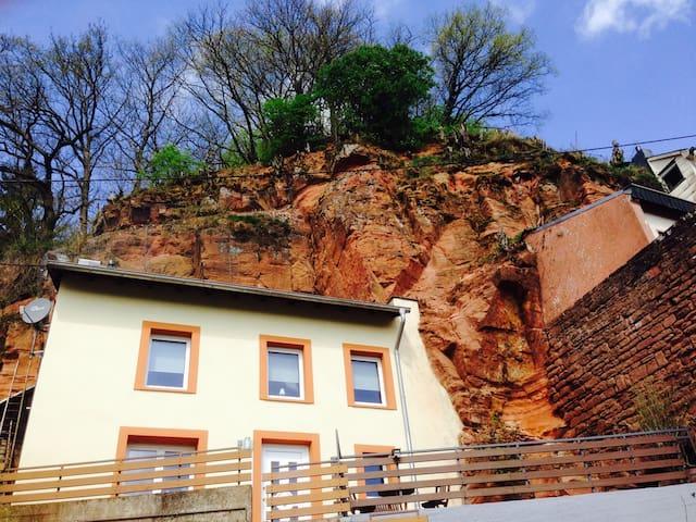 FELSENHAUS mit Blick über Trier