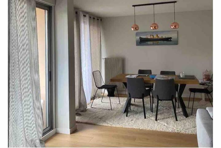 Magnifique appartement de  90 m2  centre ville