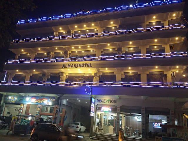 Almas Hotel opposite faizaghat park mingora swat8