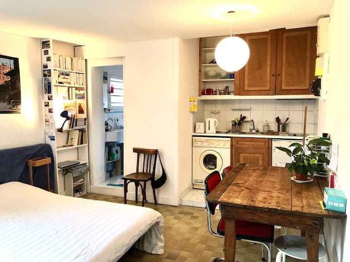 Location studio 20m2, Paris 10eme