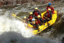 Rafting on Riviere Rouge
