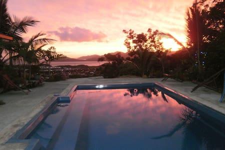logement avec terrasse panoramique prox du medipol - Nouméa - Bungalow