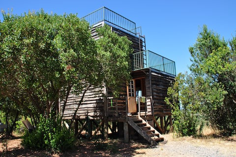 Splendido eco-cottage nella nostra famiglia Hacienda!