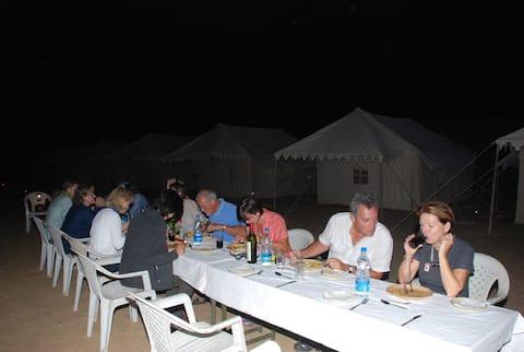 Desert Safari Planners Campings in Thar desert..