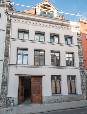 White appartment renovated with old stones - Tournai - Byt