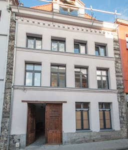 White appartment renovated with old stones - Tournai - Apartment