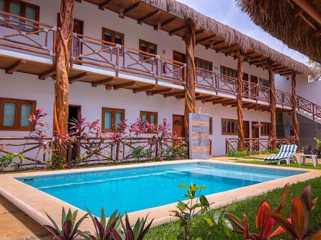 Complete Hotel Hacienda Dos Ojos for rent