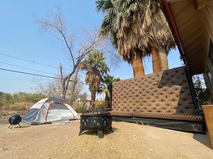 "Save ""Glamping"" Glamorous camping 420 friendly T1"