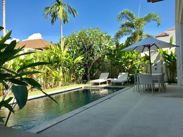 2 BDR Spacious Private Pool Villa in Bangtao