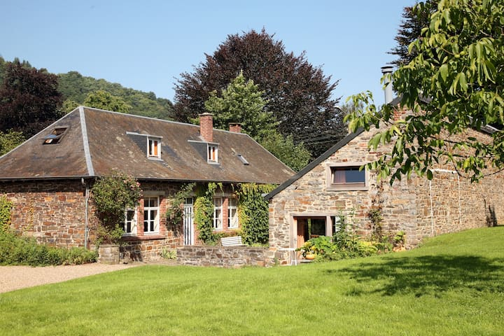 Maison familiale et grand jardin - Rendeux - Hus